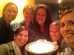 Imperfect photo with imperfect people who imperfectly love each other. The pie, however, was perfection.